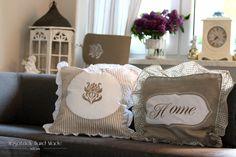 Modrashka: Poduszka ze snu. #vintage #pillow #shabby #chic