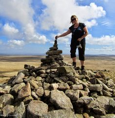 Summit of Brown Willy, Bodmin Moor, Cornwall