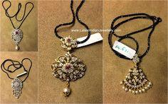 Latest Indian diamond pendant designs