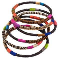 bluma bangles-made by the women cooperatives in rwanda The bangles are part of the bluma project's global efforts to employ women thru education each piece is produced on-site by women mentored in advanced jewelry design providing sustainable wages means to express creativity.90.00