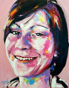Jerson Jimenez,  201 Oil on Canvas, 50 x 40 cm.