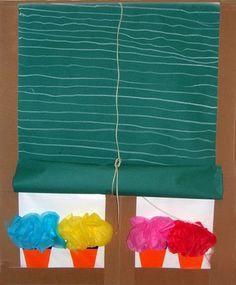 Finestra - quizá para el día de Andalucía Familia Y Cole, School Bulletin Boards, Party Accessories, Ideas Para, Tapas, Art For Kids, Art Projects, Arts And Crafts, Album