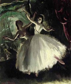 Ballerinas - Doris Zinkeisen 20th century