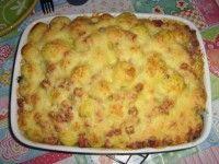 Ovenschotel met Aardappel, Gehakt, en Spitskool