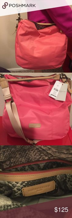 Liebeskind NWT grapefruit large nylon Great travel bag liebeskind Ramona 16 x 15 x 9 Liebeskind Bags Travel Bags
