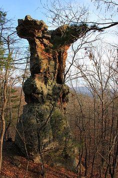 Pedestal Rocks Trail, Ozark National Forest