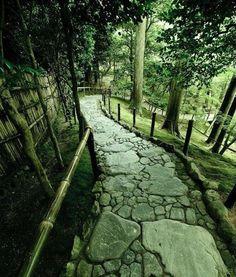Beautiful stone path...