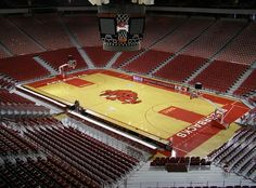 Bud Walton Arena - University of Arkansas. Was there for 1994 NCAA Regionals USC Women vs. Virginia in Sweet and then vs. Louisiana Tech in Elite Louisiana Tech, Fayetteville Arkansas, University Of Arkansas, Tampa Bay Rays, Arkansas Razorbacks, World Of Sports, Road Trippin, College Life, Wrestling