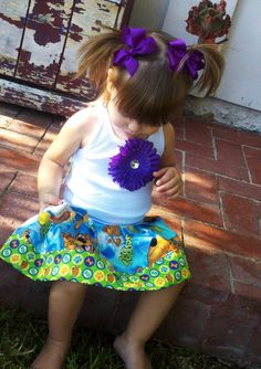 Scooby Doo Dress Available in sizes 3mo through 7/8 by RNBDesignz, $22.95