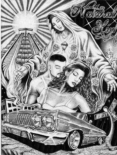 cholo prison art - Google Search