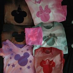 DIY Disney World shirts