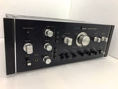 SANSUI AU-11000 Integrated Stereo Amplifier 220 Watts RMS Vintage 1975 Like New   eBay