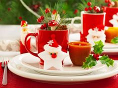 Идеи и советы от мастеров сервировки: как гармонично украсить стол на Новый год 2017 http://happymodern.ru/kak-ukrasit-stol-na-novyj-god-2017/ Оригинальный декор стола всегда порадует и гостей и хозяев