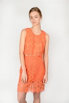 Sandi Top  http://relatedapparel.com/Sandi-Top.aspx  #relatedapparel #spring #summer #myrelated #fashion #related #orange #trend