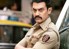 Aamir Khan; Mustache conveys   Bollywood Film, Talash (2012)