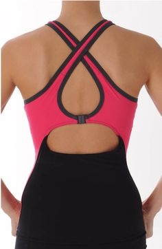 Yep! This is a tankini!! Look at all the support it gives the chest! The real, built-in bra doesn't hurt either ;)