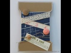 ▶ Envelope Punch Board: A Spool Card for crafty friends! - YouTube