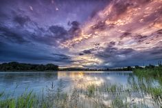 Sunset over the Dead-Danube Naplemente a Holt-Dunán Bogyiszló Beautiful Sunset, Beautiful World, Landscape Photography, Nature Photography, Night Skies, Mother Nature, Clouds, Pictures, Photos