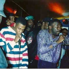 Young Jigga crushin' mics alongside BDK with JustICE watching in the back