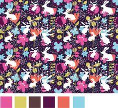 Bunnies pattern by Gaby Braun