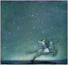 swedish fairy tales/John Bauer illustrations