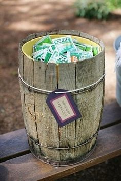 Offer individual insect repellent options. | 32 Totally Ingenious Ideas For An Outdoor Wedding