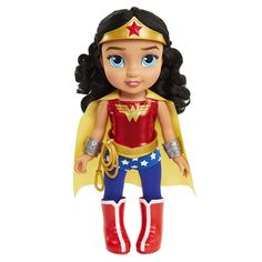DC Toddler Dolls - Wonder Woman Toddler Doll, Includes: 8 Pieces - Your Dream Toys