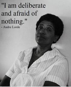 audre lorde, writer, activist, feminist.