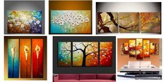 Acrylic Flower Paintings, Abstract Flower Paintings, Beautiful Flower – Paintingforhome Multi Canvas Painting, Canvas Paintings For Sale, Large Canvas Art, Modern Art Paintings, Abstract Canvas Art, Large Painting, Canvas Wall Art, Painted Canvas, Hand Painted