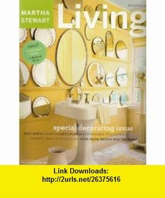 Martha Stewart Living Magazine September 2003 (Number 118) - Special Decorating Issue Martha Stewart ,   ,  , ASIN: B002HJF7DW , tutorials , pdf , ebook , torrent , downloads , rapidshare , filesonic , hotfile , megaupload , fileserve