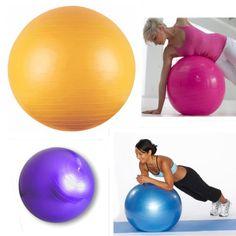 65cm 26 Inch Yoga Exercise Ball Balance Pilates Gym