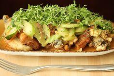 Kin Shop's fried pork and crispy oyster salad. Photo: Melissa Hom