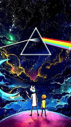 Rick And Morty Trippy Wallpapers Top Free Rick And Morty for Rick And Morty Rainbow Wallpaper Cartoon Wallpaper, Trippy Wallpaper, Wallpaper Space, Colorful Wallpaper, Galaxy Wallpaper, Cool Wallpaper, Wallpaper Backgrounds, Iphone Wallpaper, Space Backgrounds