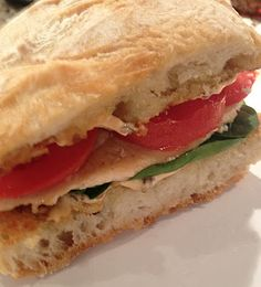 "Low Fat Roasted Chicken Panini - and other ultra-low fat recipes collected by ""Jack Sprat's Wife""."