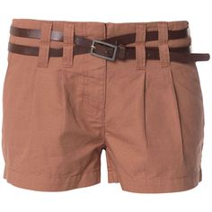 Vero Moda Bo Canvas Short Shorts Air (€20) ❤ liked on Polyvore featuring shorts, bottoms, pants, short, hot pants, micro shorts, mini shorts, short shorts and zipper shorts