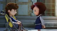 """Ένα αγόρι με αναπηρία έρχεται στο σχολείο και τότε η μικρή Μαρία...Η καλύτερη ταινία μικρού μήκους που έχετε δεί ποτέ! Ένα αγόρι με αναπηρία .... """"αλλιώτικο"""" από τα άλλα έρχεται στο σχολείο."""
