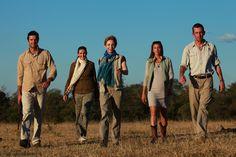 Martha Beck and the Londolozi family