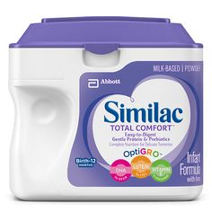 Similac Total Comfort: If your baby is experiencing discomfort due to persistent…