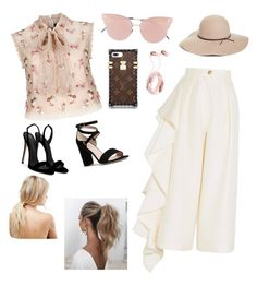 """""""Daily life"""" by nazafernandez on Polyvore featuring moda, Needle & Thread, Solace, Giuseppe Zanotti, Kate Spade, So.Ya, ASOS, Love Couture, Halogen y Pink"""