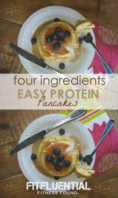 Easy Protein Pancakes Recipe - Just Four Ingredients!