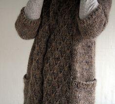 smock knitting; Norah Gaughan pattern