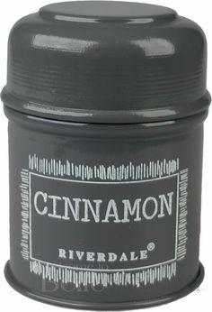 #Pojemnikmetalowykuchenny Cinnamon grey - BelleMaison.pl