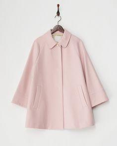 ピンクメルトンAラインコート - バビロン ブランド通販(セール)なら【グラムール セールス】