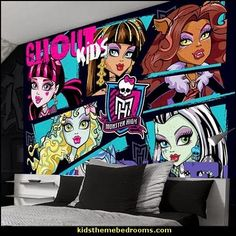 Monster High Ghoul Kids Rule Wallpaper Mural