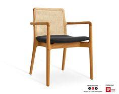 Cadeira Milla com Braço - Jader Almeida