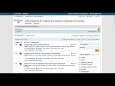 Quick Tip Video | Dissertations & Theses