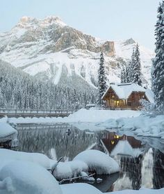 """""""BD Bucket List Emerald Lake Lodge, Yoho National Park (by Canada Pictures, Cool Pictures, Beautiful Pictures, Creative Pictures, Yoho National Park, National Parks, Voyager Loin, Lake Photos, Emerald Lake"""