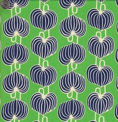 Amy Butler's Lark Chinese Lanterns in Grass Patterns In Nature, Textile Patterns, Textile Prints, Cool Patterns, Print Patterns, Fabric Design, Pattern Design, Chinese Patterns, Fabric Stamping