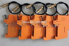 Durable knife set on the pressure points of the glass fiber pneumatic cutting tool holder