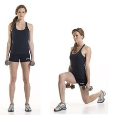 Lunge Forward  http://www.womenshealthmag.com/fitness/legs-workout